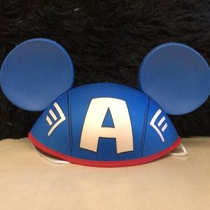 Disney Marvel Capt. America Mickey Ears